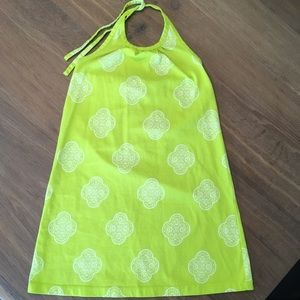 Hanna Andersson halter dress little girl size 110